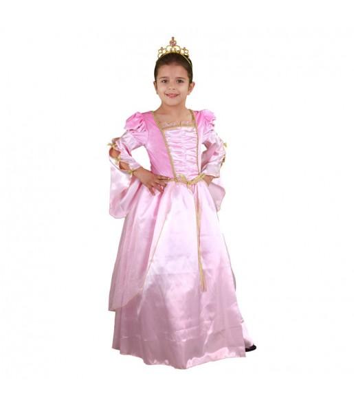 Déguisement Princesse Rose et dorée