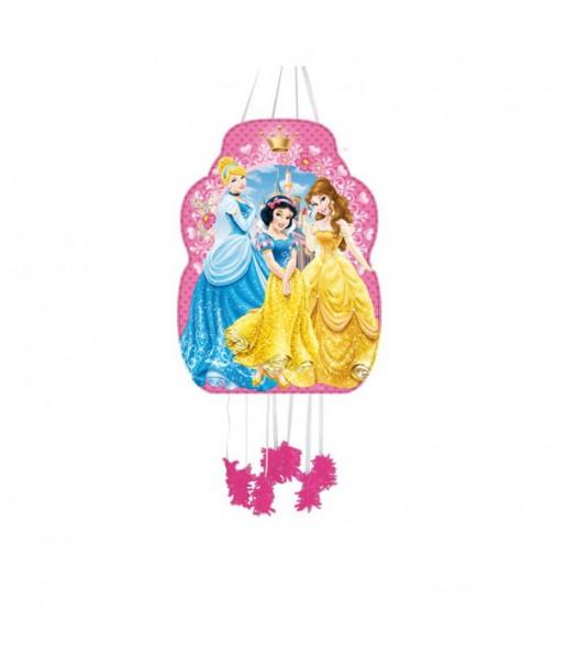 Piñata Perfil Princesas Disney