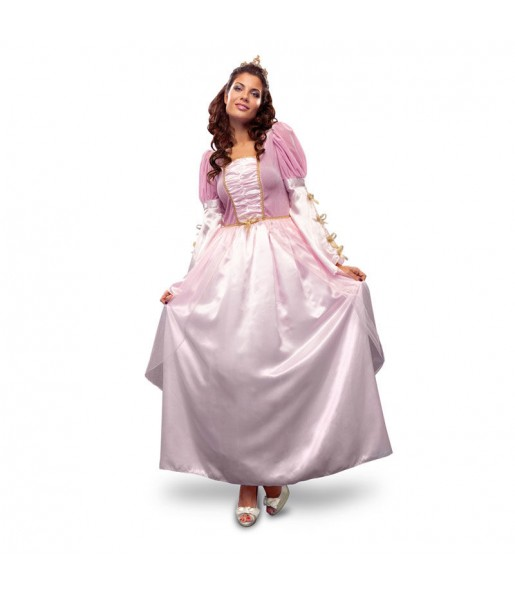 Déguisement Princesse Rose adulte