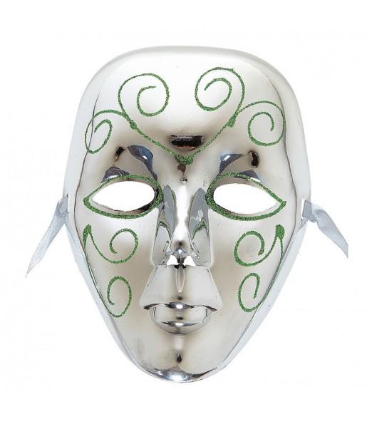Masque Vénitien - Argent