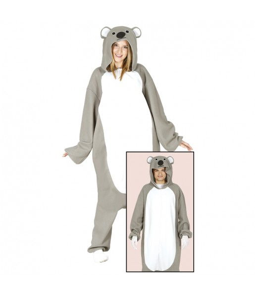 Déguisement Koala Kigurumi pour adulte