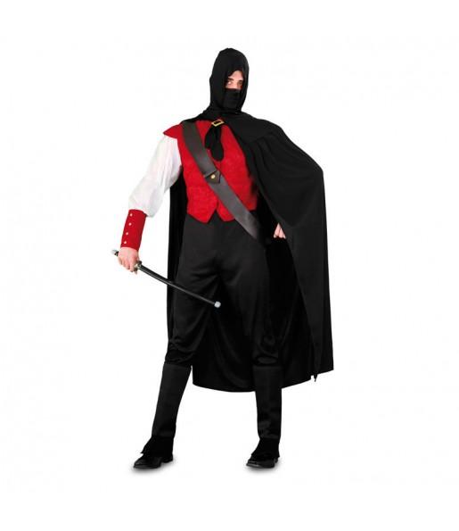 Déguisement Ninja rouge
