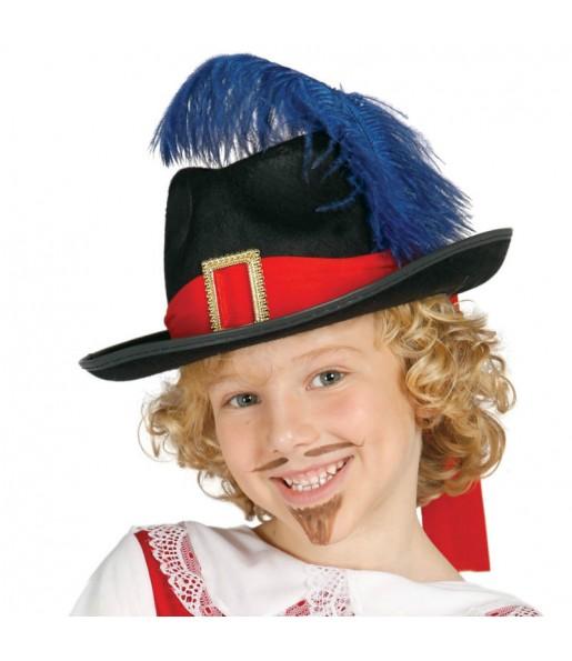 Chapeau Mousquetaire pour enfants