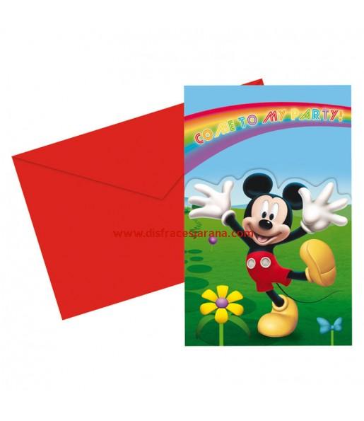 Invitations Mickey Colours - Disney™