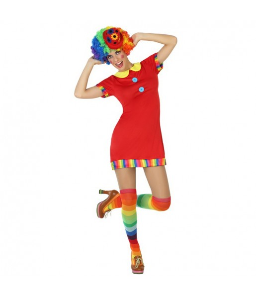 Déguisement Clown TV Femme