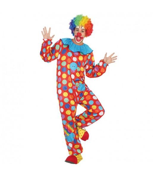 Déguisement Clown à Pois Adulte