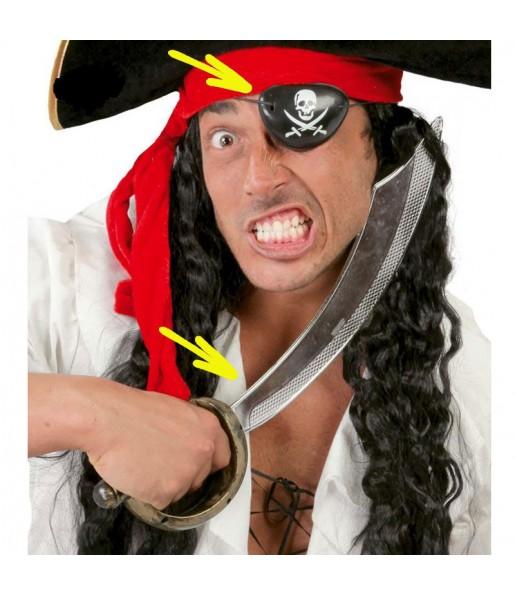Épée et Cache-oeil Pirate