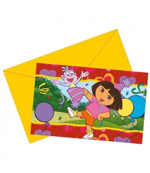 Invitations Dora l'Exploratrice - Nickelodeon™