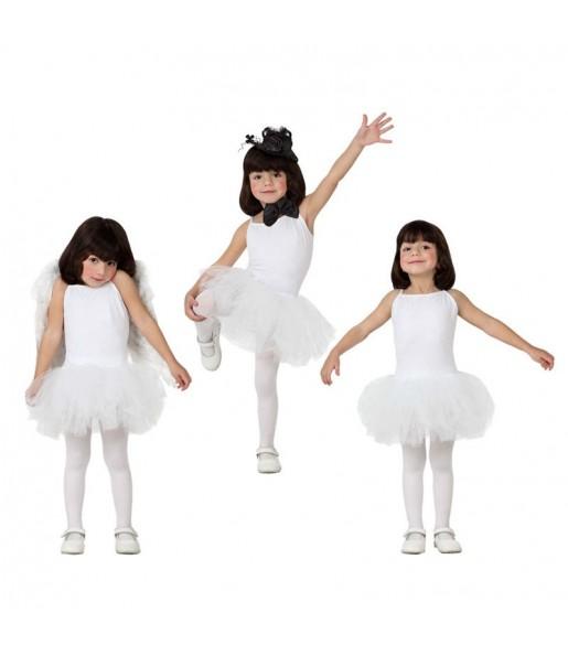 Déguisement Danseuse Ballet - Blanc