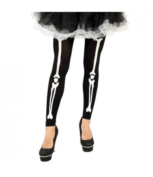 Paire de Collants Squelette