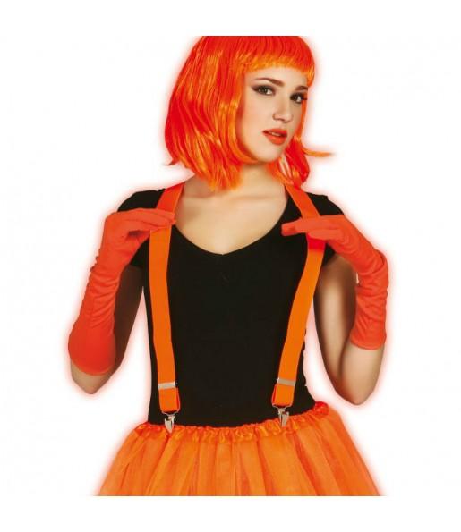 Bretelles Fluo – Orange