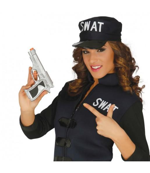 Pistolet Détective Argent