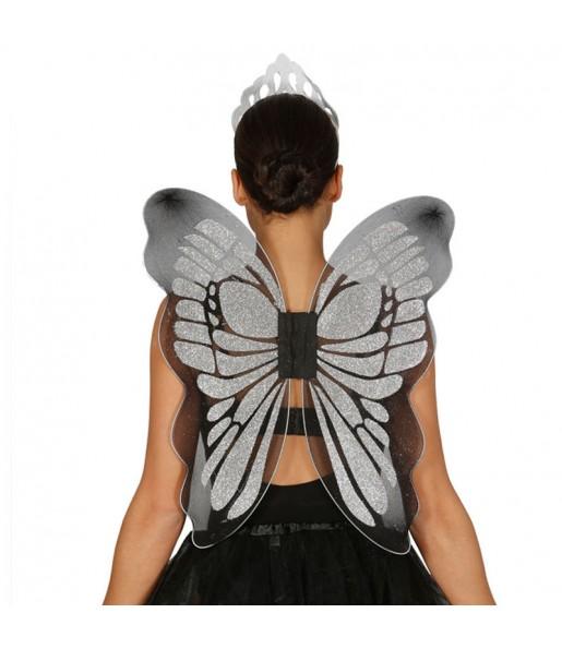 Ailes Argent Papillon