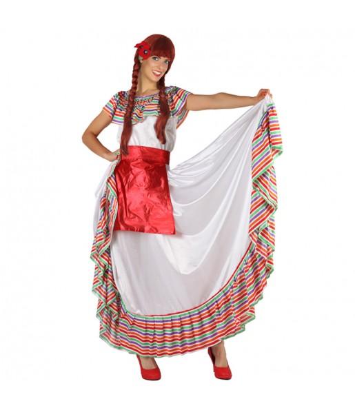 Déguisement Méxicaine du Mexique adulte