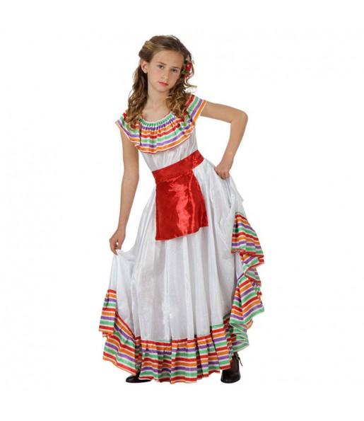 Déguisement Méxicaine du Mexique enfant