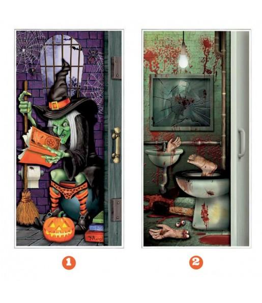 Décoration Halloween pour Porte