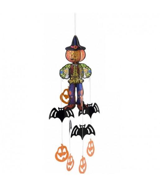 Décoration à suspendre Citrouille Halloween