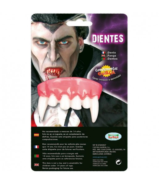 Dentier Vampire Canines pointues