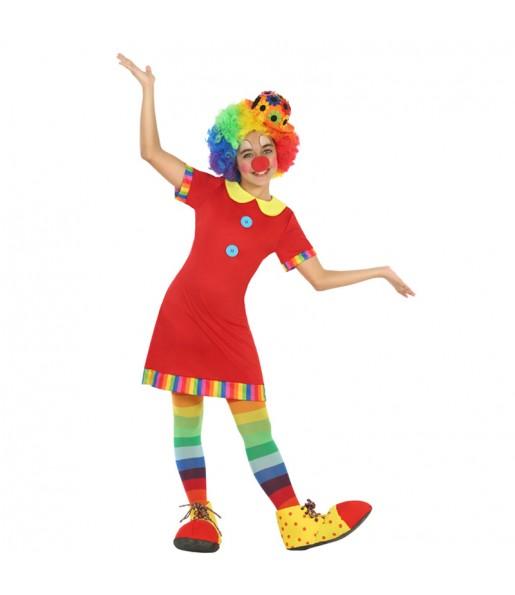Déguisement Clown Télévision Fille