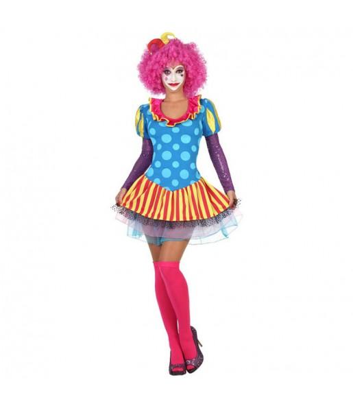 Déguisement Clown avec Tulle