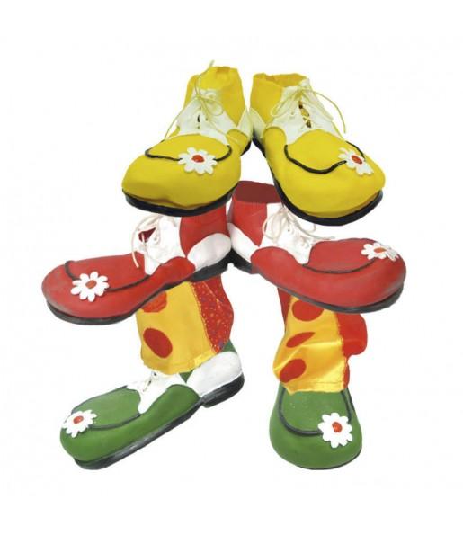 Chaussures Clown Latex