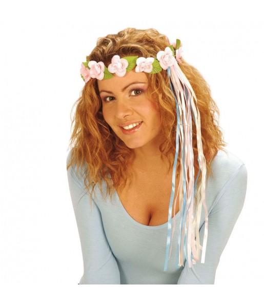 Diadème Fleurs Hippie Type C