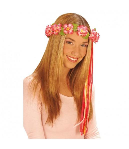 Diadème Fleurs Hippie Type F