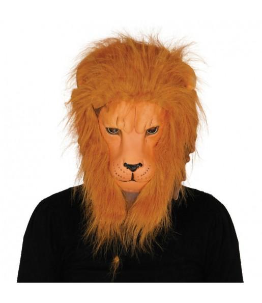 Masque Lion avec cheveux