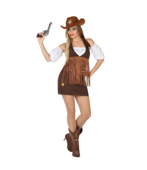 Déguisement Cowgirl Franges