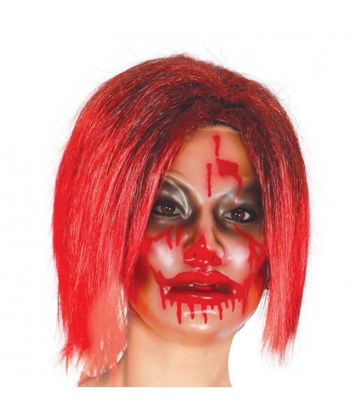 Masque Zombie Femme Transparent