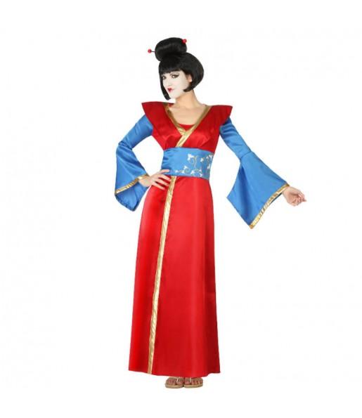 Déguisement Geisha Rouge