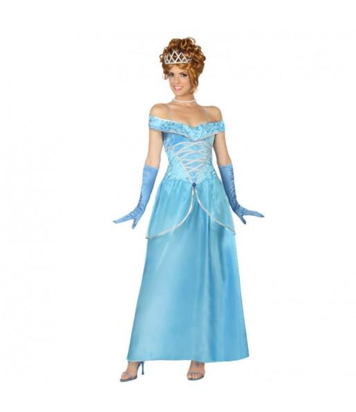 Déguisement Princesse Cendrillon Longue