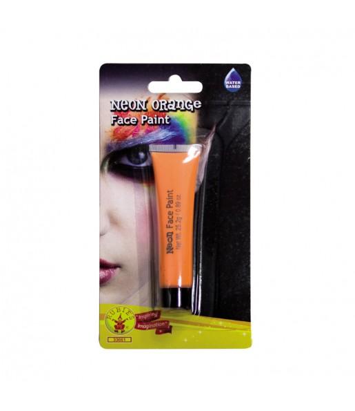 Maquillage Crème Orange Fluo UV