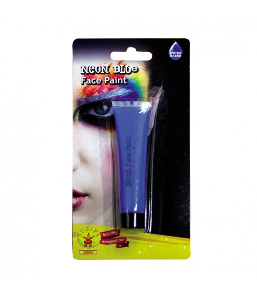 Maquillage Crème Bleue Fluo UV