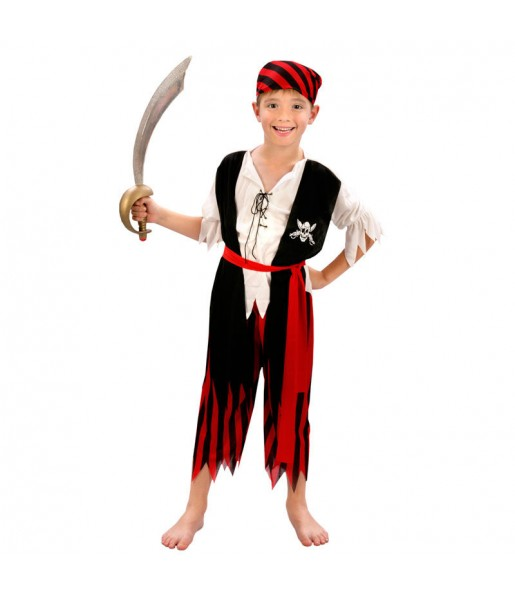 Déguisement Pirate garçon petit prix