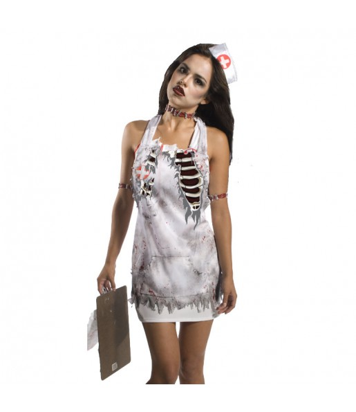 Tablier Infirmière Zombie
