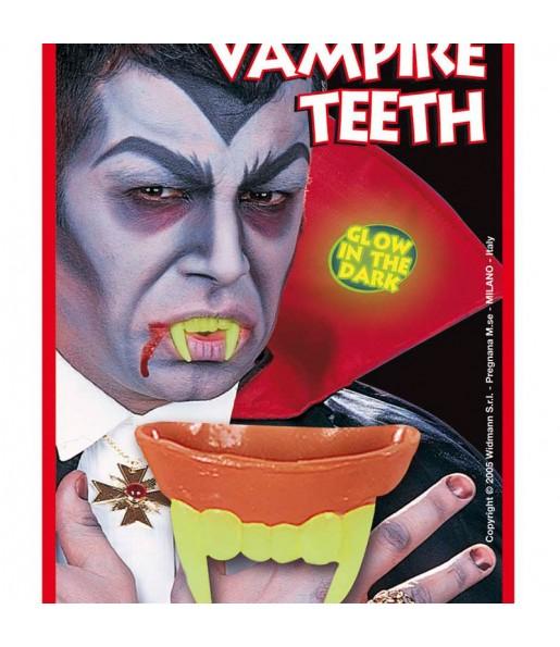 Dentier Vampire Fluo