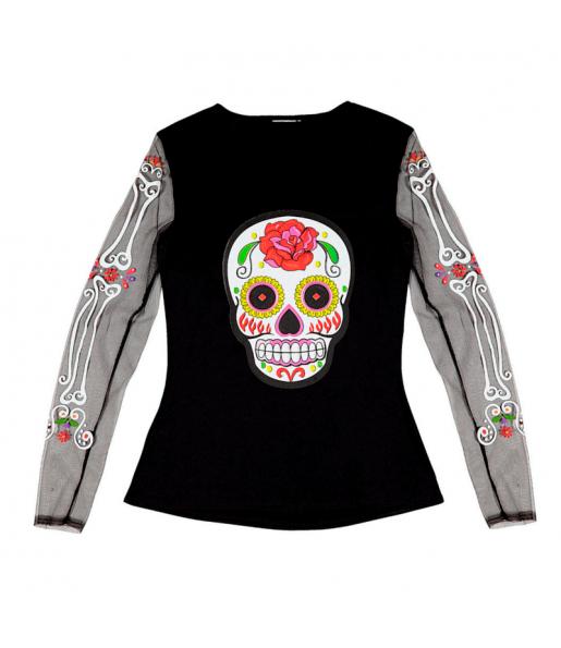 T-shirt Squelette Méxicaine