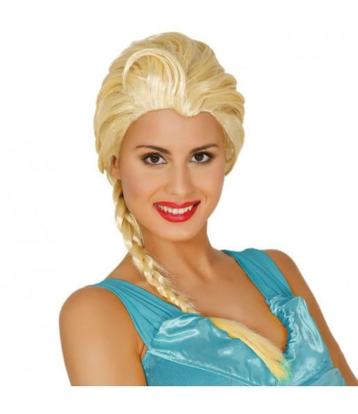 Perruque Princesse Frozen