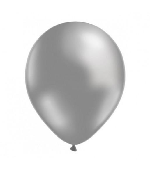 50 Ballons Métalliques - Argent