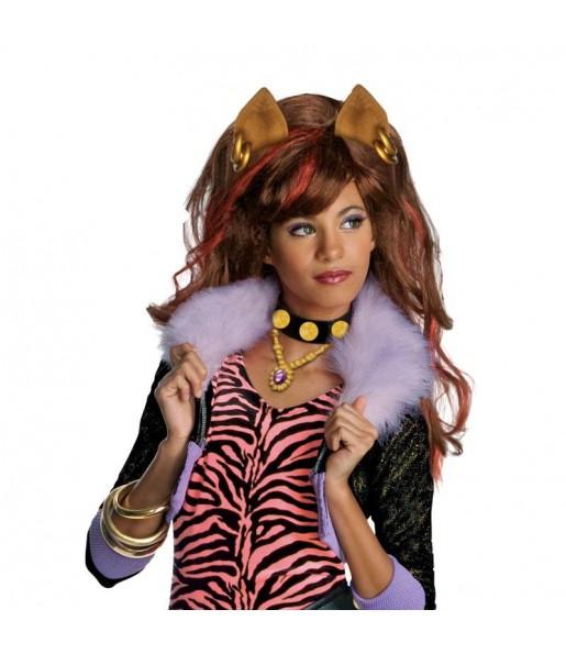 Perruque Clawdeen Wolf Monster High fille