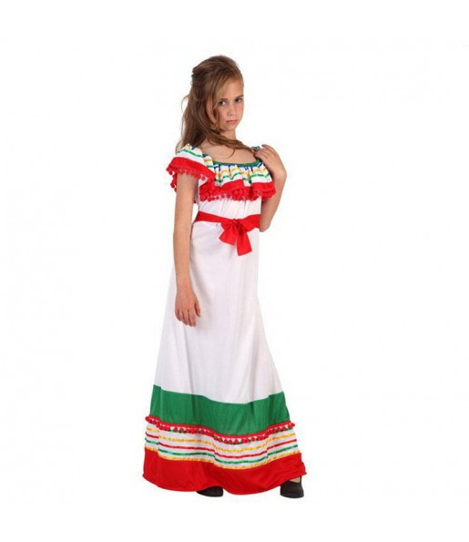 Déguisement Méxicaine Multicolore fille