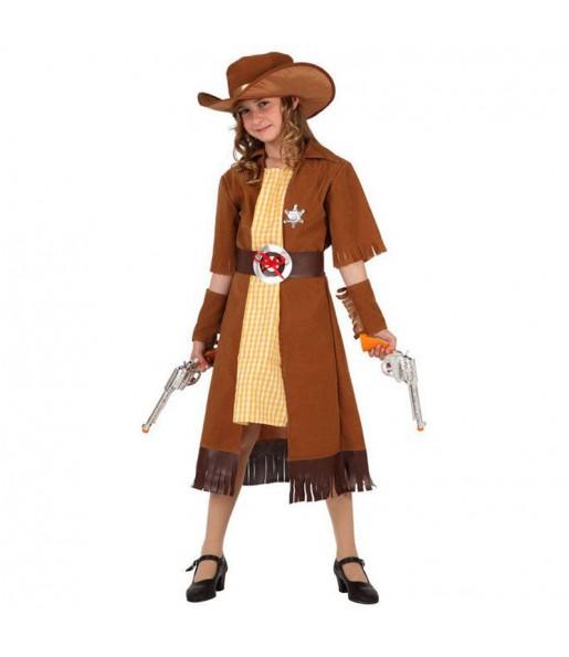 Déguisement Cowgirl Marron fille