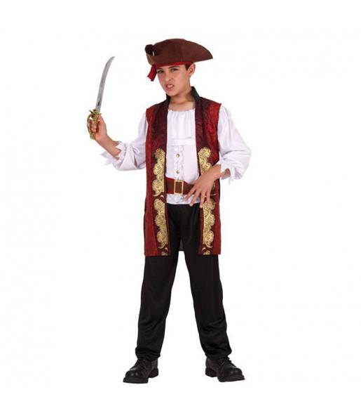 Déguisement Pirate Luxe garçon