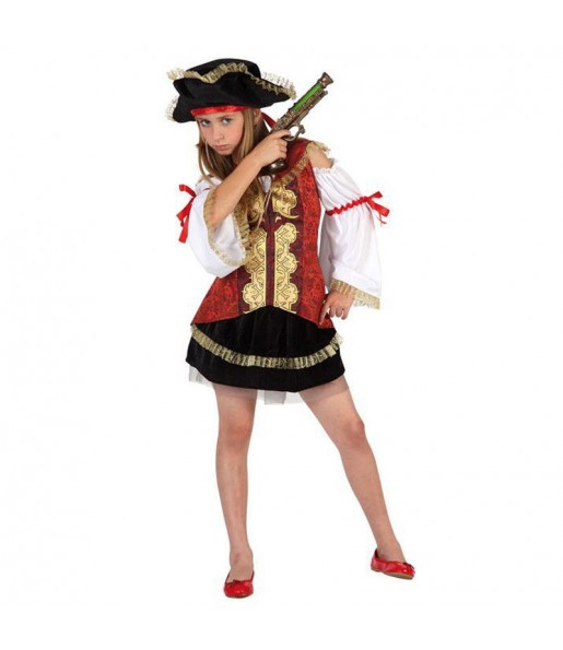 Déguisement Pirate Luxe