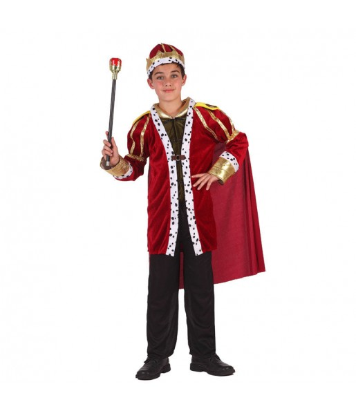 Déguisement Roi Médiéval Luxe garçon