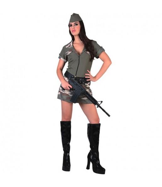 Déguisement Militaire Armée pour femme