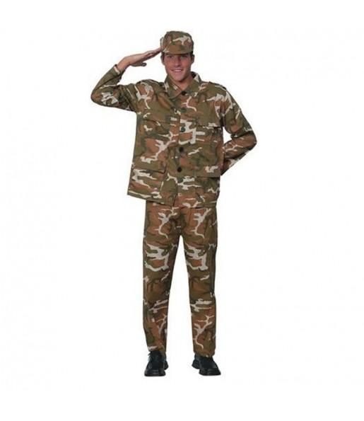 Déguisement Militaire Camouflage pour homme