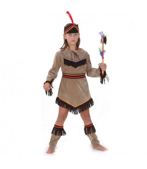 Déguisement Indienne Dakota enfant