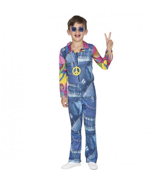 Déguisement Hippie Jeans Garçon